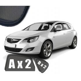 Zasłonki / roletki / osłony przeciwsłoneczne dedykowane do Opel Astra J Hatchback (2009-2019)