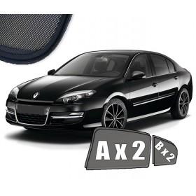 Zasłonki / roletki / osłony przeciwsłoneczne dedykowane do Renault Laguna III Hatchback / Liftback (2007-2015)