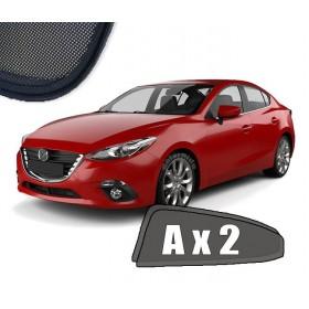 Zasłonki / roletki / osłony przeciwsłoneczne dedykowane do Mazda 3 III Sedan (2013-2018)