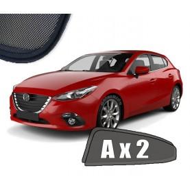 Zasłonki / roletki / osłony przeciwsłoneczne dedykowane do Mazda 3 III Hatchback 2013-