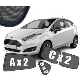 Zasłonki / zasłony / rolety / roletki / osłony / osłonki przeciwsłoneczne dedykowane / pod wymiar / do Ford Fiesta VI