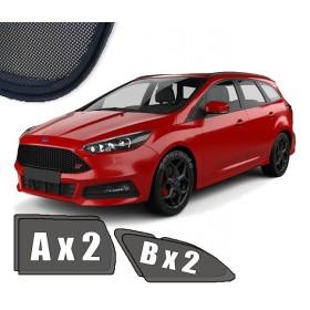 Zasłonki / zasłony / rolety / roletki / osłony / osłonki przeciwsłoneczne dedykowane / pod wymiar / do Ford Focus III Kombi