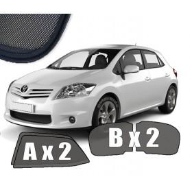 Zasłonki / roletki / osłony przeciwsłoneczne dedykowane do Toyota Auris I KPL (2006-2013)