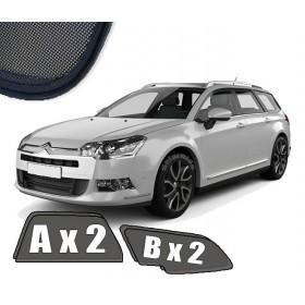 Zasłonki / roletki / osłony / osłonki przeciwsłoneczne dedykowane / pod wymiar / do Citroën C5 Tourer / Kombi (2008-2017)