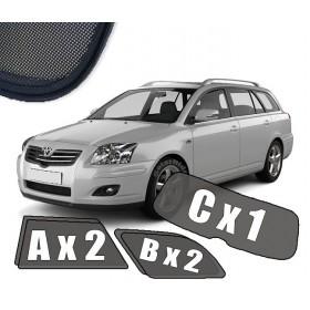 Zasłonki / roletki / osłony / osłonki przeciwsłoneczne dedykowane / pod wymiar / do Toyota Avensis II Kombi T25