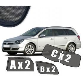 Zasłonki / roletki / osłony przeciwsłoneczne dedykowane do Opel Astra H Kombi (2004-2014)