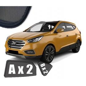 Zasłonki / zasłony / rolety / roletki / osłony / osłonki przeciwsłoneczne dedykowane / pod wymiar / do Hyundai IX35 (2009-2015)