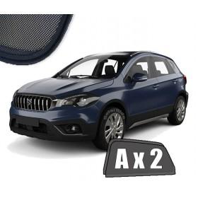 Zasłonki / zasłony / rolety / roletki / osłony / osłonki przeciwsłoneczne dedykowane / pod wymiar / do Suzuki SX4 S-Cross 2013-