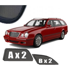 Zasłonki / roletki / osłony / osłonki przeciwsłoneczne dedykowane / pod wymiar Mercedes W210 E-Klasa Kombi (1999-2003)