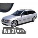 Zasłonki / roletki / osłony przeciwsłoneczne dedykowane do BMW serii 3 E46 TOURING / KOMBI (1998-2005)