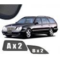 Zasłonki / roletki / osłony przeciwsłoneczne dedykowane do Mercedes-Benz W210 E-Klasa Kombi (1996-1999)
