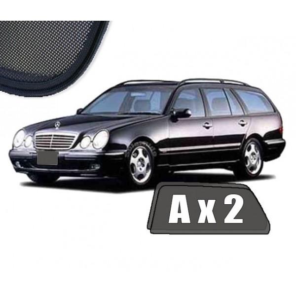 Zasłonki / roletki / osłony / osłonki przeciwsłoneczne dedykowane / pod wymiar Mercedes W210 E-Klasa Kombi 1996-1999