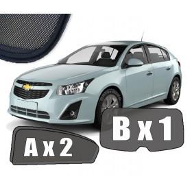 Zasłonki / roletki / osłony / osłonki przeciwsłoneczne dedykowane / pod wymiar / do Chevrolet Cruze I Hatchback 2008–2016