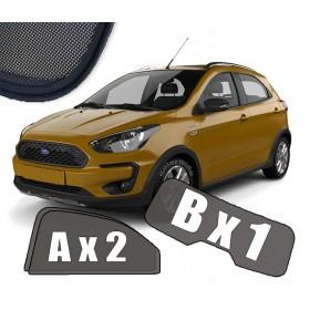 Zasłonki / roletki / osłony przeciwsłoneczne dedykowane do Ford Ka+ / Ford Ka 3 III (2016-2020)