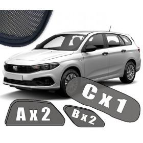 Zasłonki / roletki / osłony / osłonki przeciwsłoneczne dedykowane / pod wymiar / do Fiata Tipo Kombi (2015-
