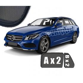 Zasłonki / roletki / osłony przeciwsłoneczne dedykowane do Mercedes-Benz W205 Kombi C-Klasa (2014-)