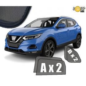 Zasłonki / roletki / osłony przeciwsłoneczne dedykowane do Nissan Qashqai 2 II LIFT 2017-
