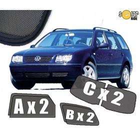 Zasłonki / roletki / osłony przeciwsłoneczne dedykowane do VW Volkswagen Bora Kombi (1998-2005)