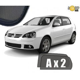 Zasłonki / roletki / osłony przeciwsłoneczne dedykowane do VW Volkswagen Golf 5 (5 Drzwi) (2003-2009)