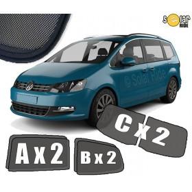 Zasłonki / roletki / osłony przeciwsłoneczne dedykowane do Volkswagen Sharan II (2010-)