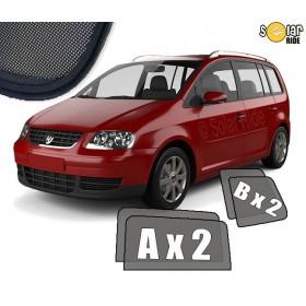 Zasłonki / roletki / osłony przeciwsłoneczne dedykowane do VW Volkswagen Touran (2003-2010)