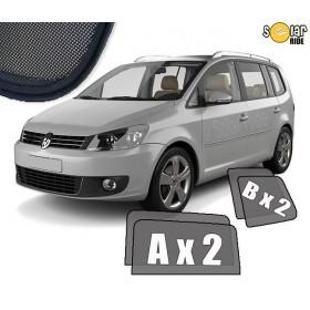 Zasłonki / roletki / osłony przeciwsłoneczne dedykowane do VW Volkswagen Touran (2010-2015)