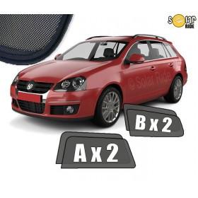 Zasłonki / roletki / osłony przeciwsłoneczne dedykowane do VW Volkswagen Golf V Kombi Variant (2003-2009)