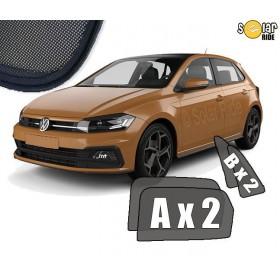 Zasłonki / roletki / osłony przeciwsłoneczne dedykowane do VW VOLKSWAGEN POLO 6 (2017-)