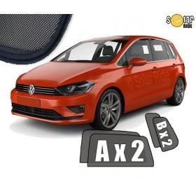 Zasłonki / roletki / osłony przeciwsłoneczne dedykowane do VW Volkswagen Golf Sportsvan (2014-)