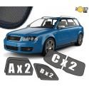 Zasłonki / roletki / osłony przeciwsłoneczne dedykowane do Audi A4 B6 Avant 2000-2006