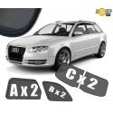Zasłonki / roletki / osłony przeciwsłoneczne dedykowane do Audi A4 B7 Avant 2004-2008