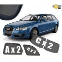 Zasłonki / roletki / osłony przeciwsłoneczne  dedykowane do Audi A6 C6 Avant 2004-2011