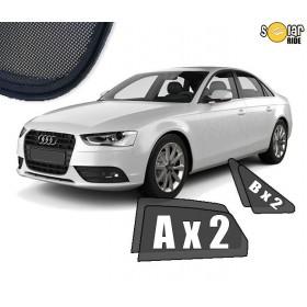 Zasłonki / roletki / osłony przeciwsłoneczne dedykowane do Audi A4 B7 Sedan 2004-2008