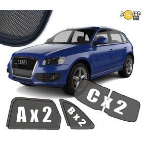 Zasłonki / roletki / osłony / osłonki przeciwsłoneczne dedykowane / pod wymiar / do Audi Q5 I (2008-2017)