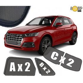 Zasłonki / roletki / osłony / osłonki przeciwsłoneczne dedykowane / pod wymiar / do Audi Q5 II