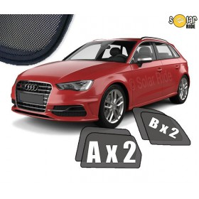 Zasłonki / zasłony / osłony / osłonki przeciwsłoneczne dedykowane / pod wymiar / do Audi A3 Sportback 8V (2012-2020)