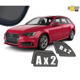 Zasłonki / roletki / osłony / osłonki przeciwsłoneczne dedykowane / pod wymiar / do  Audi A4 B9 Avant (2015 - )