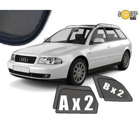 Zasłonki / roletki / osłony przeciwsłoneczne dedykowane do Audi A4 B5 Avant (1996-2001)