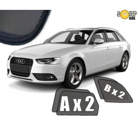 Zasłonki / zasłony / osłony / osłonki przeciwsłoneczne dedykowane / pod wymiar / do Audi A4 B8 Avant (2007-2015 )