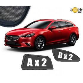 Zasłonki / roletki / osłony przeciwsłoneczne dedykowane do Mazda6 III (GJ) Kombi 2012-