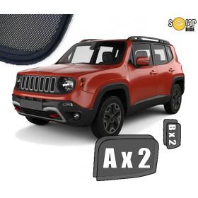 Zasłonki / roletki / osłony przeciwsłoneczne dedykowane do Jeep Renegade 2014-