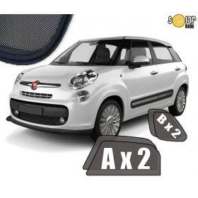 Zasłonki / roletki / osłony / osłonki przeciwsłoneczne dedykowane / pod wymiar / do Fiata 500L od 2012-