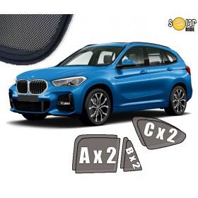 Zasłonki / roletki / osłony przeciwsłoneczne dedykowane do BMW X1 F48 (2015- )