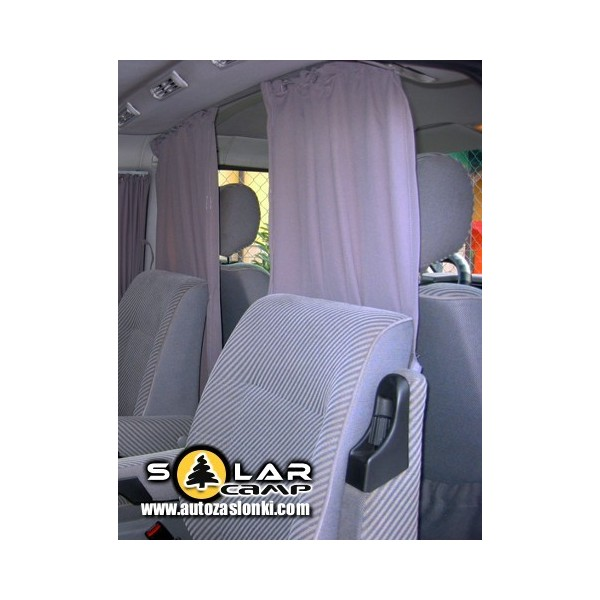 Uniwersalne zasłonki działowe do Busów