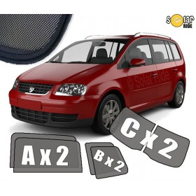 UV Car Shades, Sunshades, Car Window Sun Blinds VW Volkswagen Touran 5dr 2003-2010