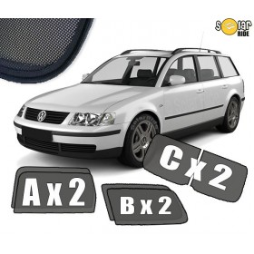 UV Car Shades, Sunshades, Car Window Sun Blinds VW Volkswagen Passat B5 B5FL Estate