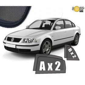 UV Car Shades, Sunshades, Car Window Sun Blinds VW Volkswagen Passat B5 B5FL Saloon Sedan