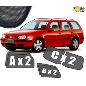 UV Car Shades, Sunshades, Car Window Sun Blinds VW Volkswagen Golf 4 Estate