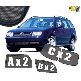 UV Car Shades, Sunshades, Car Window Sun Blinds VW Volkswagen Bora Estate