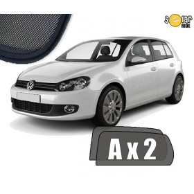 UV Car Shades, Sunshades, Car Window Sun Blinds VW Volkswagen GOLF 6